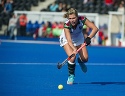 Surbiton's Georgie Twigg. Holcombe v Surbiton - Investec Women's Hockey League Final, Lee Valley Hockey & Tennis Centre, London, UK on 23 April 2017. Photo: Simon Parker