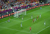 FUSSBALL  EUROPAMEISTERSCHAFT 2012   VORRUNDE Spanien - Irland                     14.06.2012 Feature