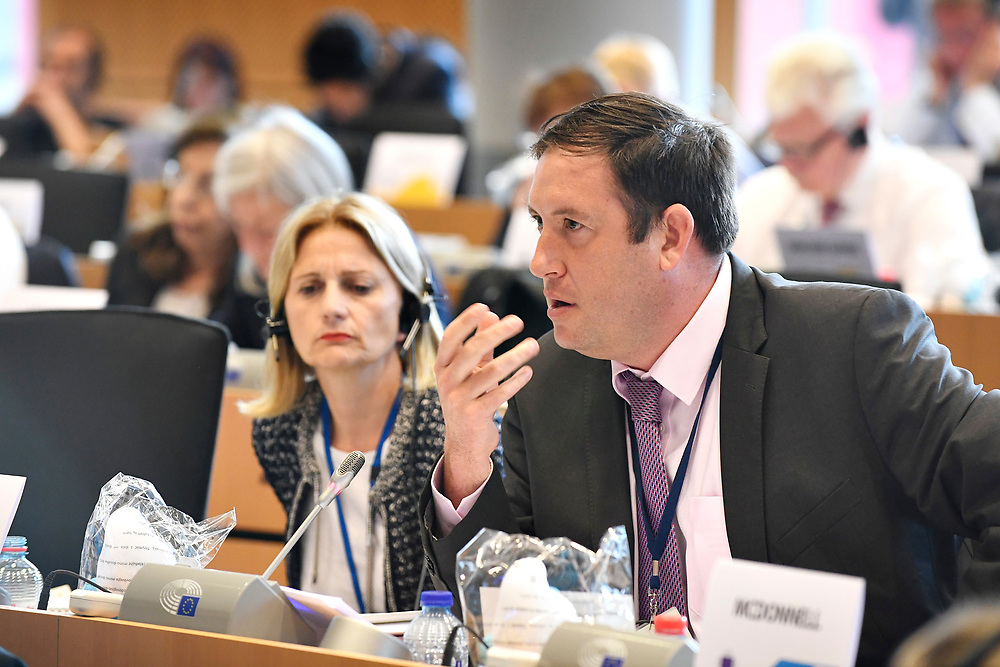 11 May 2017, 123rd Plenary Session of the European Committee of the Regions <br /> Belgium - Brussels - May 2017 <br /> MCCARTHY Kieran &copy; European Union / Fred Guerdin