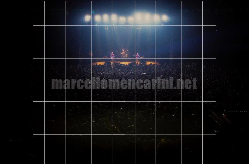 Rome, 1984. Audience at The Police Concert / Roma, 1984. Pubblico a un concerto dei Police - © Marcello Mencarini