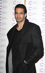 UPEN PATEL attends the James' Jog-on to Cancer charity fundraiser, Kensington Roof Gardens, April 3, 2013 in London, England. Photo by: i-Images..