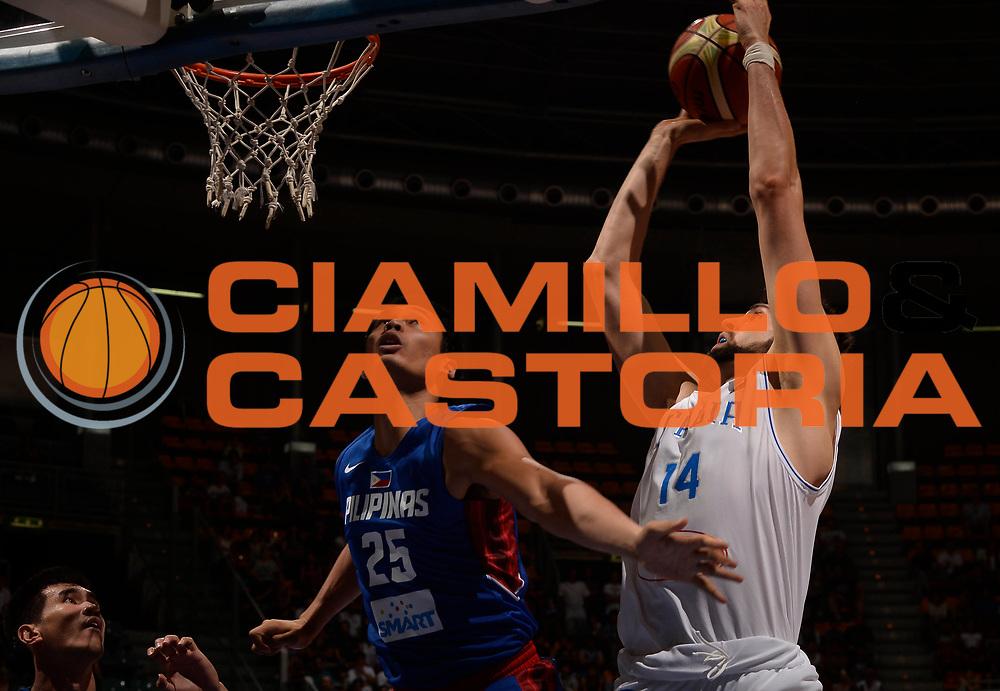 DESCRIZIONE: Bologna Basketball City Tournament - Italia Filippine<br /> GIOCATORE: Riccardo Cervi<br /> CATEGORIA: Nazionale Maschile Senior<br /> GARA: Bologna Basketball City Tournament - Italia Filippine<br /> DATA: 25/06/2016<br /> AUTORE: Agenzia Ciamillo-Castoria