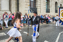 The Mazey Day celebrations in Penzance, Cornwall.