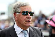 Racehorse Trainer Sir Michael Stoute at the York Dante Meeting at York Racecourse, York, United Kingdom on 17 May 2018. Picture by Mick Atkins.