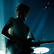 The 1975 return to Glasgow to play the bigger O2 Academy and prove they are a class act to a sell out teenage crowd (PLEASE DO NOT REMOVE THIS CAPTION)<br /> This image is intended for portfolio use only.. Any commercial or promotional use requires additional clearance. <br /> &copy; Copyright 2014 All rights protected.<br /> first use only<br /> contact details<br /> Stuart Westwood <br /> 07896488673<br /> stuartwestwood44@hotmail.com<br /> no internet usage without prior consent. <br /> Stuart Westwood reserves the right to pursue unauthorised use of this image . If you violate my intellectual property you may be liable for damages, loss of income, and profits you derive from the use of this image.