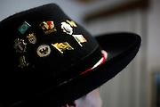 Rodeio_SC, Brasil.<br /> <br /> Imagens do cotidiano da cidade de Rodeio, uma das principais colonia de imigrantes italianos do estado. Na foto detalhe de chapeu tipico.<br /> <br /> Images of Rodeo, one of the main colony of Italian immigrants in the state. In this photo of typical hat.<br /> <br /> Foto: BRUNO MAGALHAES / NITRO