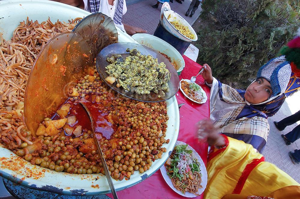 "Bolivia. Tarija. Festa di San Roque..Multiple hours of procession needing a break .. and tasty local ""comida"""