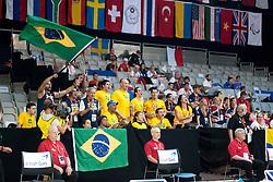 Team Brazil Spectators  at 2015 IPC Swimming World Championships -