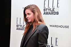BARBARA PALVIN at the 17th Elle Style Awards 2014 in association with Warehouse held at One Embankment, 8 Victoria Embankment, London on 18th February 2014.