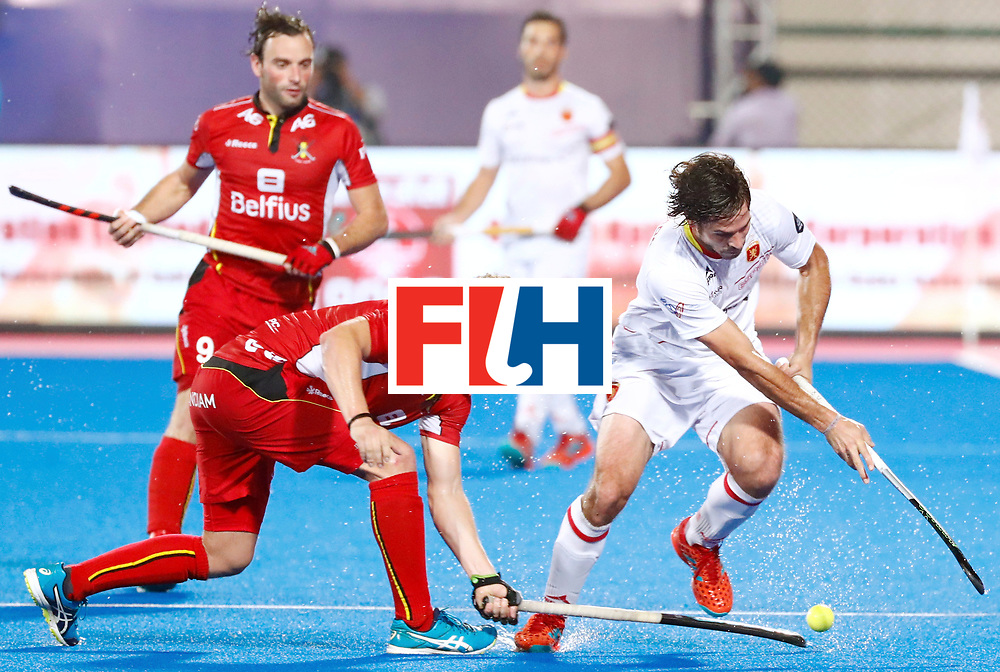 Odisha Men's Hockey World League Final Bhubaneswar 2017<br /> Match id: 18<br /> Belgium v Spain<br /> Foto:   <br /> COPYRIGHT WORLDSPORTPICS KOEN SUYK