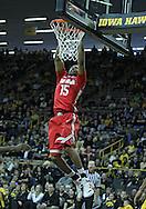 January 07, 2011: Ohio State Buckeyes forward J.D. Weatherspoon (15) dunks the ball during the the NCAA basketball game between the Ohio State Buckeyes and the Iowa Hawkeyes at Carver-Hawkeye Arena in Iowa City, Iowa on Saturday, January 7, 2012.