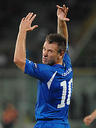 07.09.2010, Stadio Artemio Franchi, Florenz, ITA, UEFA 2012 Qualifier, Italia v Faer Oer, im Bild antonio cassano.EXPA Pictures © 2010, PhotoCredit: EXPA/ InsideFoto/ Massimo Oliva *** ATTENTION *** FOR AUSTRIA AND SLOVENIA USE ONLY! / SPORTIDA PHOTO AGENCY