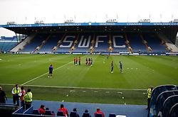 Bristol City players take a walk on the pitch on arrival at Hillsborough - Mandatory by-line: Matt McNulty/JMP - 13/09/2016 - FOOTBALL - Hillsborough - Sheffield, England - Sheffield Wednesday v Bristol City - Sky Bet Championship