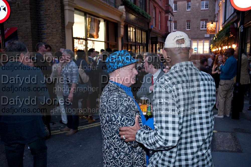 JOHNNIE THORNTON, A Celebration of Style; cool London through the Photographer's lens. Curated by Sandra Higgins. Mark Powell. Marshall St. London. 20 June 2010. -DO NOT ARCHIVE-© Copyright Photograph by Dafydd Jones. 248 Clapham Rd. London SW9 0PZ. Tel 0207 820 0771. www.dafjones.com.