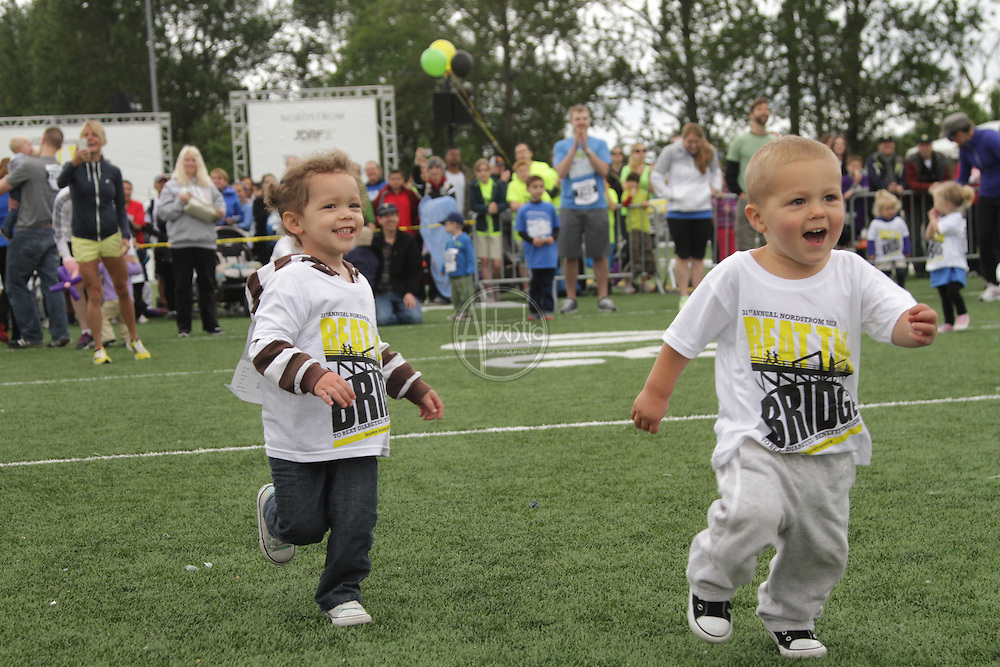 31st Annual Nordstrom Beat the Bridge, benefitting JDRF - Diaper Derby.