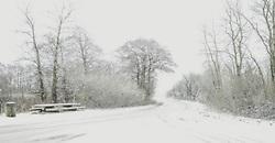 Vintervejr, Guldager, Esbjerg.