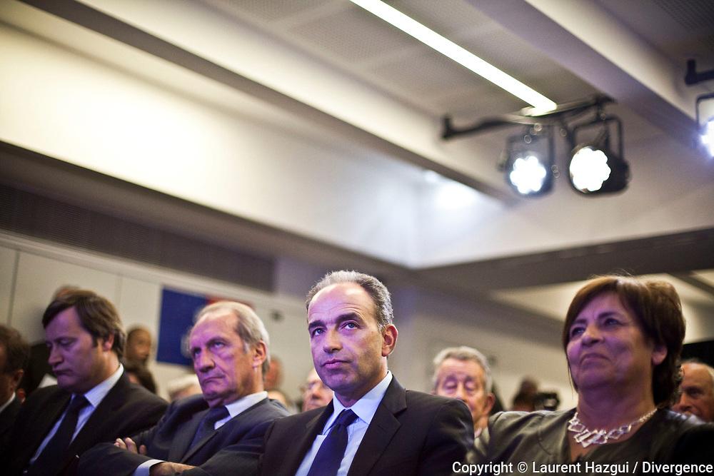 15052013. Paris. Siège de l'UMP. Convention UMP sur le bilan de 1 an de présidence de François Hollande.