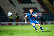 Callum Camps of Rochdale AFC during the EFL Sky Bet League 1 match between Rochdale and Lincoln City at the Crown Oil Arena, Rochdale, England on 17 September 2019.