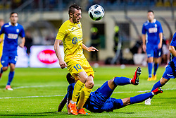 Agim Ibraimi of NK Domzale during 2nd leg football match between NK Domzale and NK Siroki Brijeg in 1st Qualifying round of UEFA Europa League, on July 19, 2018 in Domzale Sports Park, Domzale, Slovenia. Photo by Ziga Zupan / Sportida