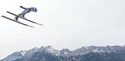 02.01.2016, Bergisel Schanze, Innsbruck, AUT, FIS Weltcup Ski Sprung, Vierschanzentournee, Training, im Bild Elias Tollinger (AUT) // Elias Tollinger of Austria during his Practice Jump for the Four Hills Tournament of FIS Ski Jumping World Cup at the Bergisel Schanze, Innsbruck, Austria on 2016/01/02. EXPA Pictures © 2016, PhotoCredit: EXPA/ JFK