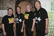 M.P. Kevin Brennan, M.P. Pete Wishart, M.P. Ian Cawsey, M.P. Greg Knight. Parliamentary Variety Show in aid of Macmillan Cancer Support.  , St. Johns, Smith Square, London, 1 February 2007.  -DO NOT ARCHIVE-© Copyright Photograph by Dafydd Jones. 248 Clapham Rd. London SW9 0PZ. Tel 0207 820 0771. www.dafjones.com.