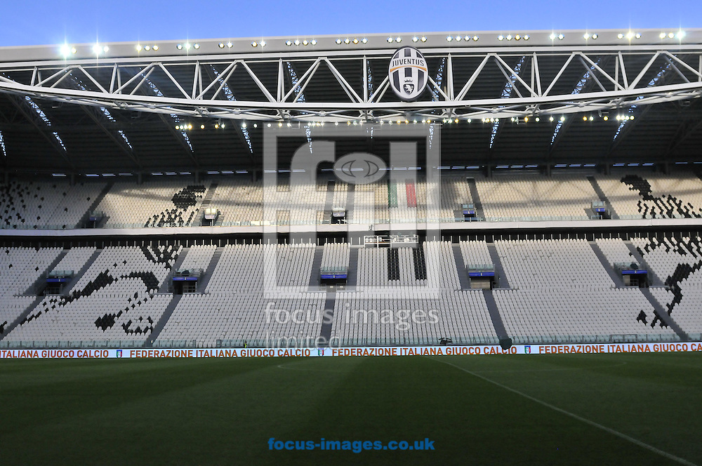 A general view of Juventus Stadium, Turin<br /> Picture by Stefano Gnech/Focus Images Ltd +39 333 1641678<br /> 30/03/2015