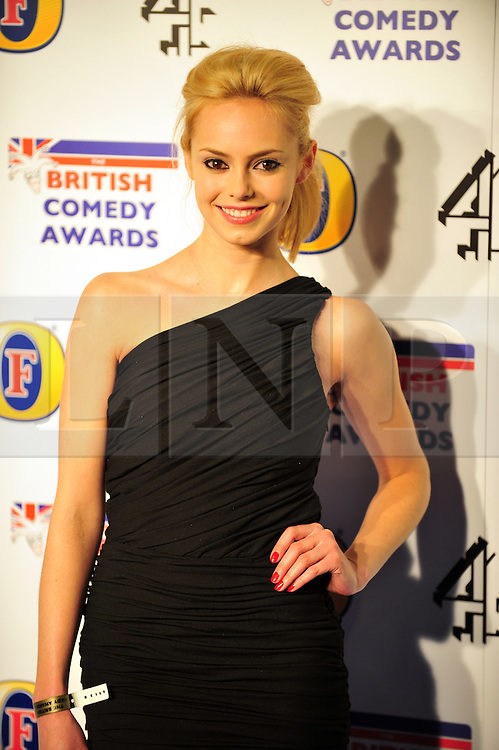 © Licensed to London News Pictures. 16/12/2011. London, England.Hannah Tointon attends the Channel 4 British Comedy Awards  in Wembley London .  Photo credit : ALAN ROXBOROUGH/LNP