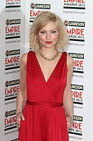 LONDON - MARCH 25: MyAnna Buring attends the Jameson Empire Awards 2012 at the Grosvenor House Hotel, London, UK. March 25, 2012. (Photo by Richard Goldschmidt)