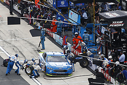October 7, 2018 - Dover, Delaware, United States of America - Ryan Blaney (12) battles for position during the Gander Outdoors 400 at Dover International Speedway in Dover, Delaware. (Credit Image: © Justin R. Noe Asp Inc/ASP via ZUMA Wire)