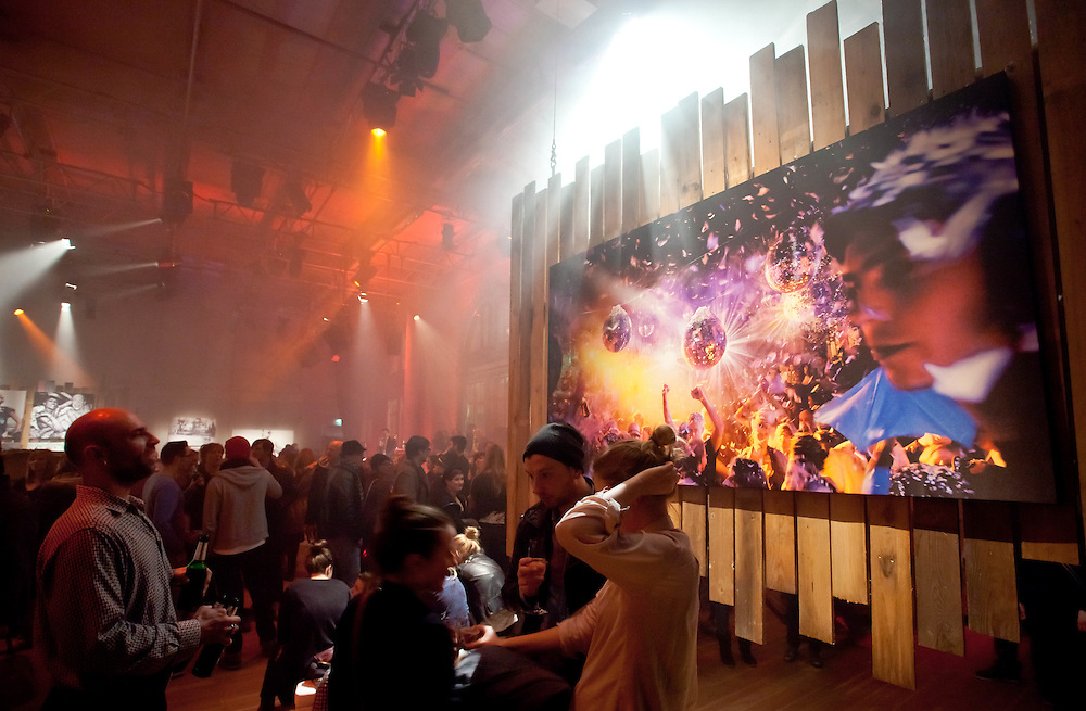 Germany - Deutschland - ART SCENE - Kunstszene; RADIALSYSTEM; PARTY BAR 25 - Photo Exhibition by Carolin Saage; 19.02.2011; © Christian Jungeblodt