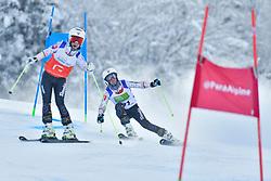 FARKASOVA Henrieta, Guide: SUBRTOVA Natalia, B3, SVK, Men's Giant Slalom at the WPAS_2019 Alpine Skiing World Championships, Kranjska Gora, Slovenia