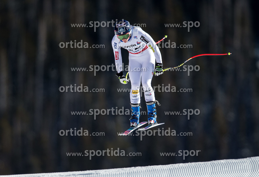 02.02.2015, Raptor Strecke, Beaver Creek, USA, FIS Weltmeisterschaften Ski Alpin, Damen, Abfahrt, 1. Training, im Bild Laurenne Ross (USA) // Laurenne Ross of the USA in action during first training run for the ladie's Downhill of FIS Ski World Championships 2015 at the Raptor Course in Beaver Creek, United States on 2015/02/02. EXPA Pictures © 2015, PhotoCredit: EXPA/ Johann Groder
