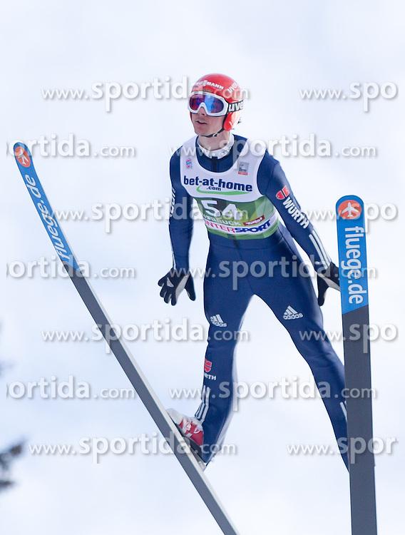 03.01.2014, Bergisel Schanze, Innsbruck, AUT, FIS Ski Sprung Weltcup, 62. Vierschanzentournee, Qualifikation, im Bild Andreas Wank (GER) // Andreas Wank (GER) during qualification Jump of 62nd Four Hills Tournament of FIS Ski Jumping World Cup at the Bergisel Schanze, <br /> Innsbruck, Austria on 2014/01/03. EXPA Pictures &copy; 2014, PhotoCredit: EXPA/ JFK