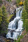 Undine Falls, Yellowstone National Park, Wyoming.