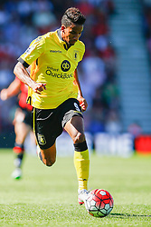 Scott Sinclair of Aston Villa in action - Mandatory by-line: Jason Brown/JMP - Mobile 07966 386802 08/08/2015 - FOOTBALL - Bournemouth, Vitality Stadium - AFC Bournemouth v Aston Villa - Barclays Premier League - Season opener