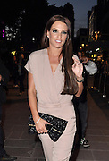 18.JUNE.2012. LONDON<br /> <br /> DANIELLE LLOYD LEAVING THE ODEON CINEMA, LEICESTER SQUARE AFTER ATTENDING THE AMAZING SPIDERMAN PREMIERE.<br /> <br /> BYLINE: EDBIMAGEARCHIVE.CO.UK<br /> <br /> *THIS IMAGE IS STRICTLY FOR UK NEWSPAPERS AND MAGAZINES ONLY*<br /> *FOR WORLD WIDE SALES AND WEB USE PLEASE CONTACT EDBIMAGEARCHIVE - 0208 954 5968*