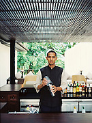Bar tender at The Chedi, Chiang Mai