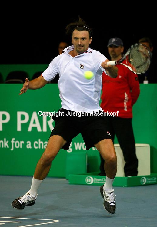 BNP Paribas Zurich Open Turnier, ATP Champions Tour, Herren Tennis Turnier in Zuerich (SUI)..Goran Ivanisevic (CRO),..Photo: Juergen Hasenkopf..