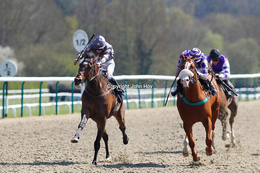 Gabrial's Hope and Darren Egan winning the 3.10 race