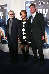 NEW YORK, NY - DECEMBER 13:  Robert De Niro, Grace Hightower, James Packer attends the premiere of 'Joy' at the Ziegfeld Theater on December 13, 2015 in New York City...People:  Robert De Niro, Grace Hightower, James Packer. (Credit Image: © SMG via ZUMA Wire)