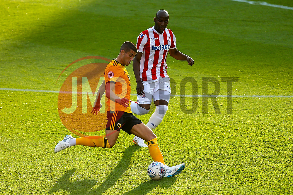 Conor Coady of Wolverhampton Wanderers - Mandatory by-line: Robbie Stephenson/JMP - 25/07/2018 - FOOTBALL - Bet365 Stadium - Stoke-on-Trent, England - Stoke City v Wolverhampton Wanderers - Pre-season friendly