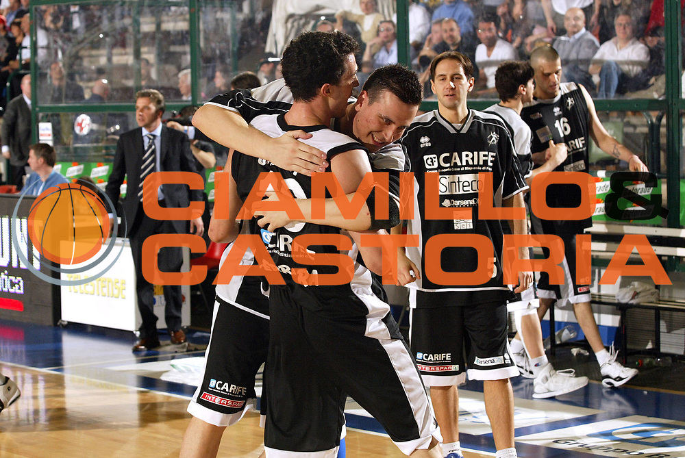 DESCRIZIONE : Ferrara Lega A2 2005-06 Coppa Italia Final Four Trofeo Computer Discount Carife Ferrara Zarotti Andrea Costa Imola<br /> GIOCATORE : Ghiacci Lestini<br /> SQUADRA : Carife Ferrara<br /> EVENTO : Campionato Lega A2 2005-2006 Coppa Italia Final Four Trofeo Computer Discount Semifinale<br /> GARA : Carife Ferrara Zarotti Andrea Costa Imola<br /> DATA : 04/03/2006<br /> CATEGORIA : Esultanza<br /> SPORT : Pallacanestro<br /> AUTORE : Agenzia Ciamillo-Castoria/E.Pozzo
