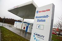 Hirschberg. 11.12.17 | <br /> Wasserstoffstankstelle. AirLiquid.<br /> <br /> Bild: Markus Prosswitz 11DEC17 / masterpress (Bild ist honorarpflichtig - No Model Release!) <br /> BILD- ID 01757 |