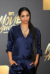 Lilly Singh, at the 2016 MTV Movie Awards, Warner Bros. Studios, Burbank, CA 04-09-16. EXPA Pictures © 2016, PhotoCredit: EXPA/ Photoshot/ Martin Sloan<br /> <br /> *****ATTENTION - for AUT, SLO, CRO, SRB, BIH, MAZ, SUI only*****