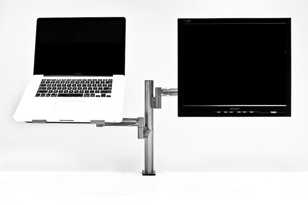 Integ modular monitor arm. Photo: Gareth Cooke/Subzero Group
