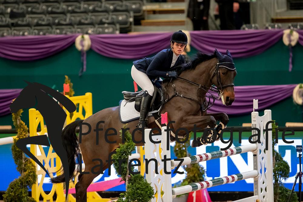 FÜLLGRAEBE Faye (GER), Quebec 48<br /> Leipzig - Partner Pferd 2019<br /> SPOOKS-Amateur Trophy<br /> Large Tour<br /> 17. Januar 2019<br /> © www.sportfotos-lafrentz.de/Stefan Lafrentz