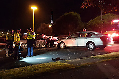 Auckland-Baby believed one of two seriously injured in Newton crash