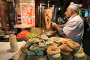 "Istanbul. At the Egyptian Bazar (""Spice Bazar""). Do?ner Kebab."