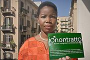 soke Aikpitanyi, la donna nigeriana che sfuggita all'oppressione della tratta di esseri umani, dedica la sua vita alla lotta al fenomeno.<br /> Isoke Aikpitanyi, a woman from Nigeria, former victim of human beings  trafficking, she managed to escape and now she is a symbol of the fight against  trafficking