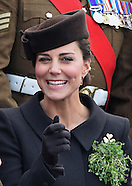 KATE & Prince William Attend St. Patrick's Day Parade